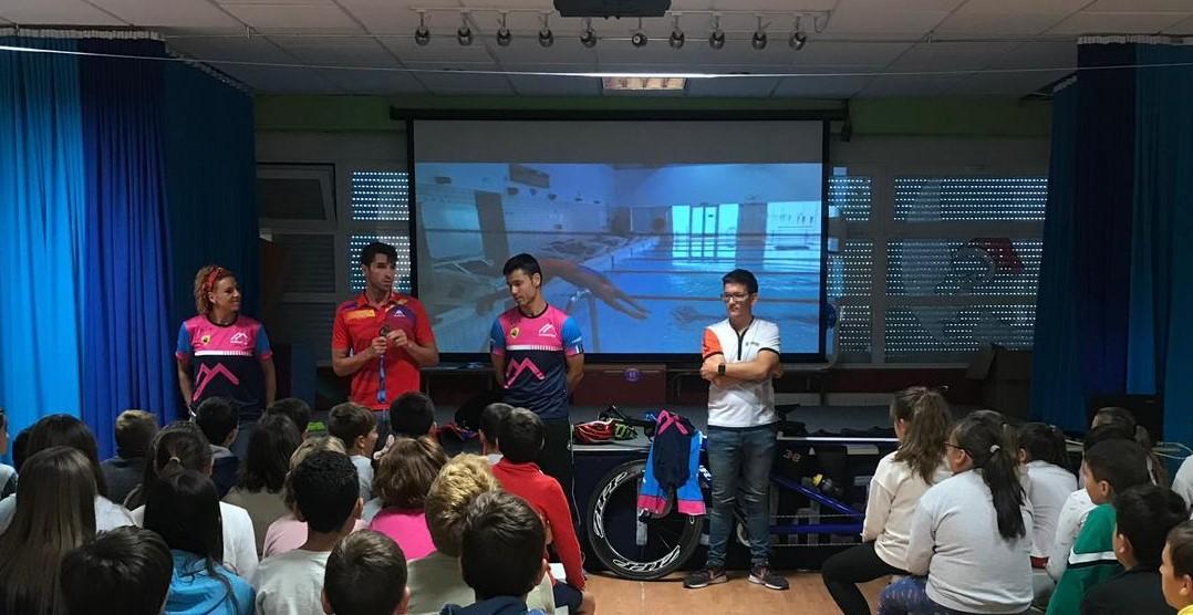 Presentación escuela de triatlón